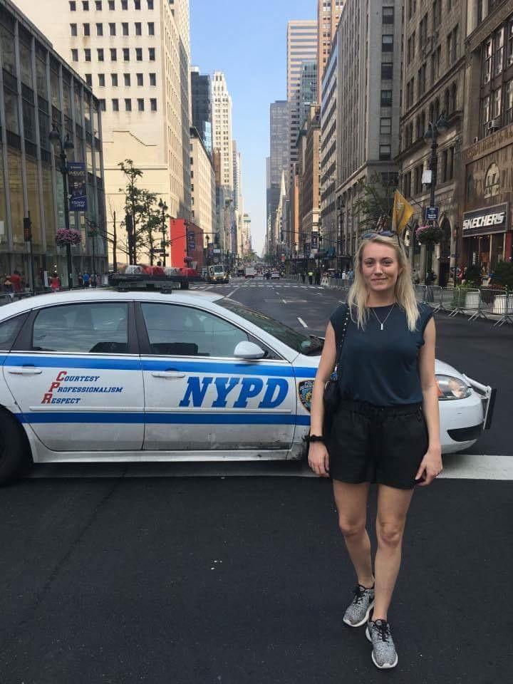 NY police car